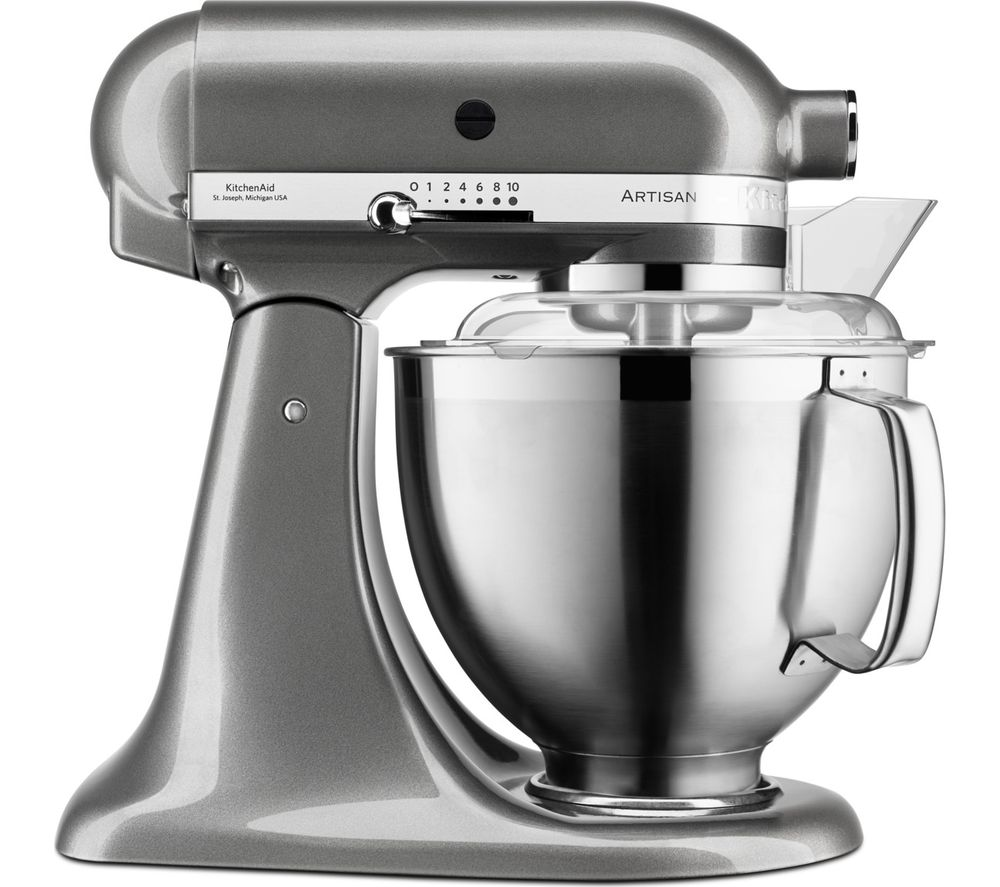 KITCHENAID Artisan 5KSM185PSBMS Stand Mixer - Stainless Steel