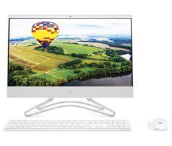 "HP 22-c0044na 21.5"" AMD A9 All-in-One PC - 1 TB HDD, White"
