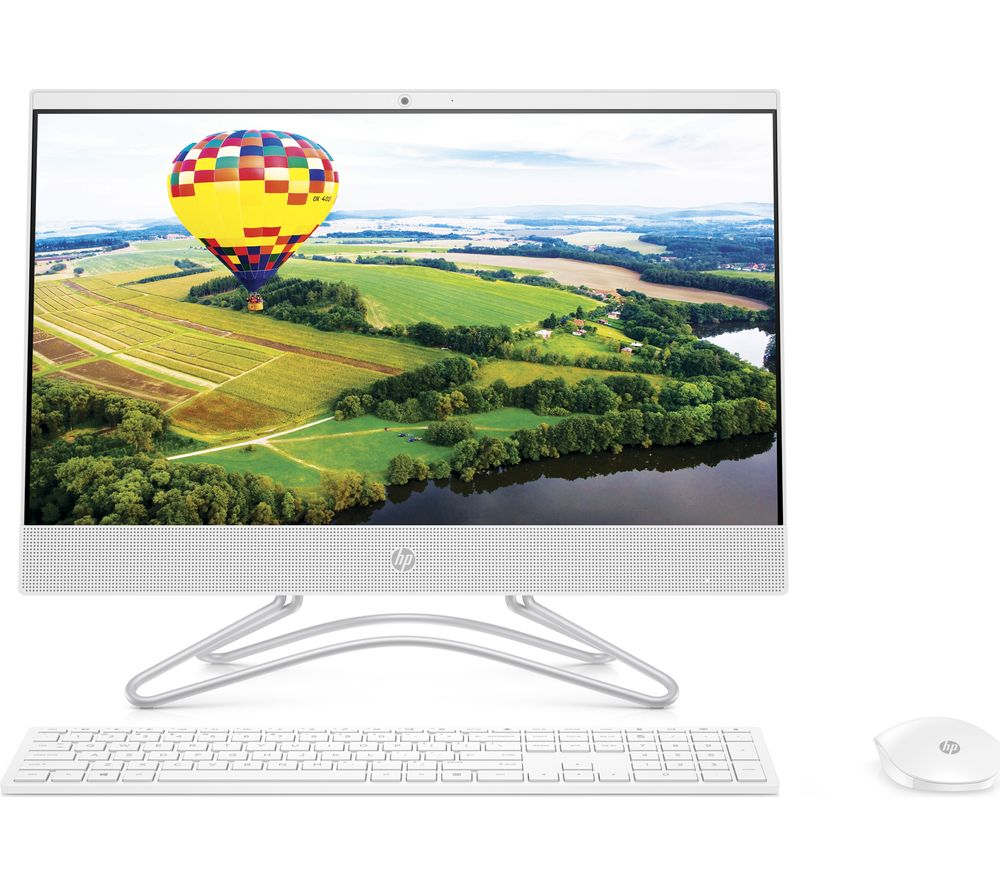 "Image of 22-c0044na 21.5"" AMD A9 All-in-One PC - 1 TB HDD, White, White"