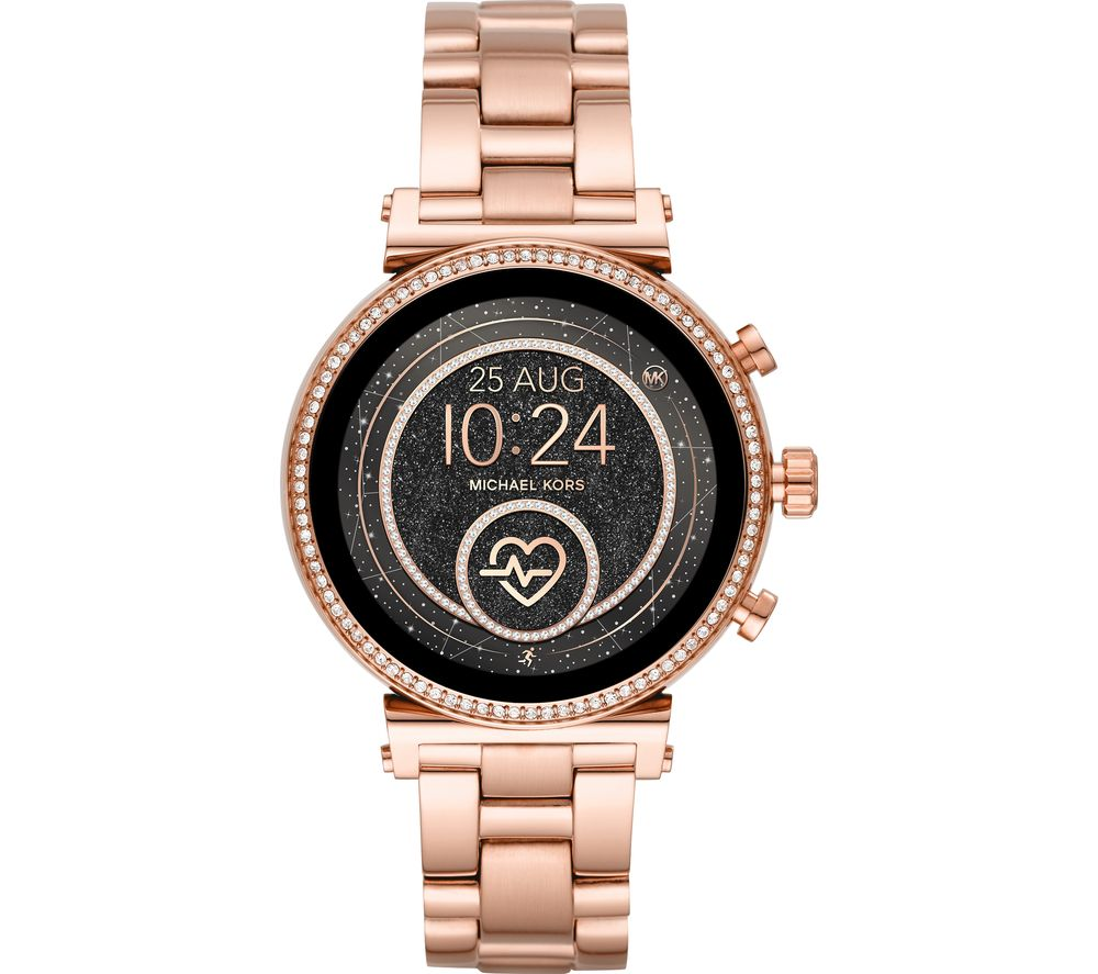 MICHAEL KORS Access Sofie Heart Rate MKT5063 Smartwatch - Rose Gold
