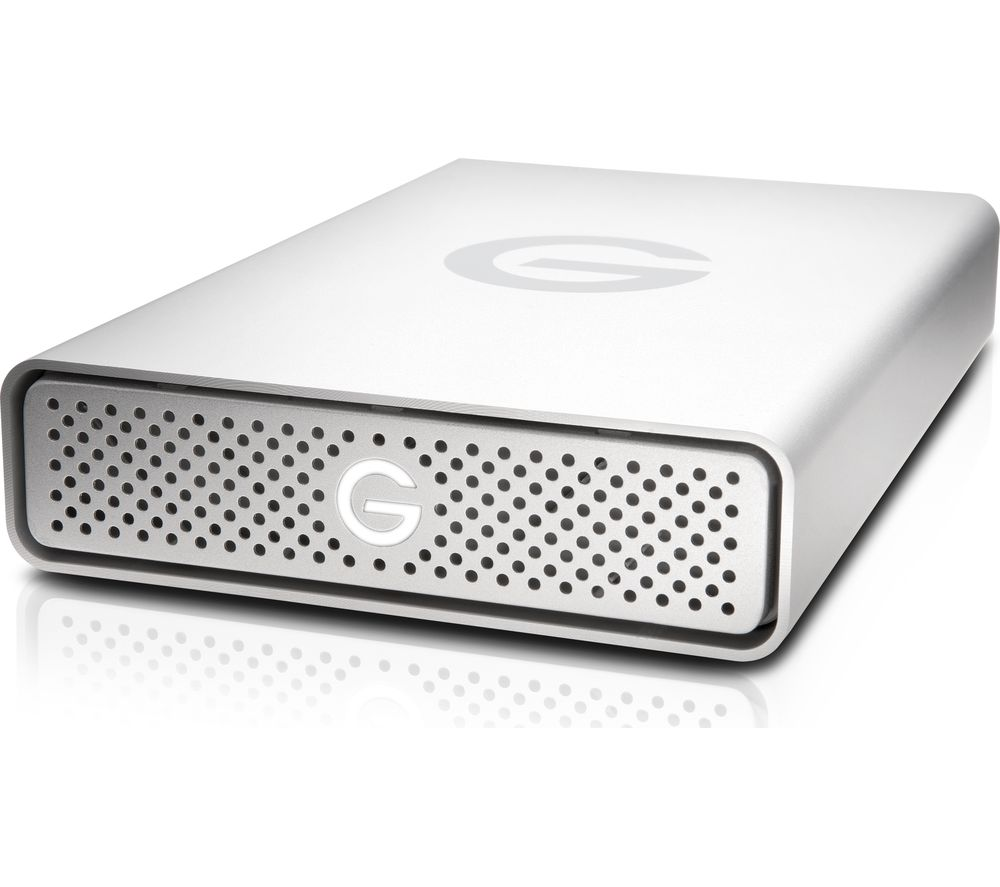 Image of 0G05675 G-Drive Hard Drive - 8 TB, Silver, Silver
