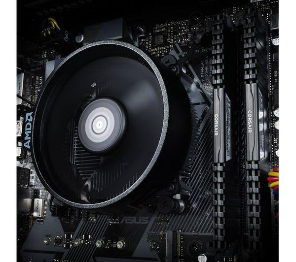 PC SPECIALIST Tornado R5 AMD Ryzen 5 GTX 1660 Gaming PC - 1 TB HDD & 120 GB  SSD