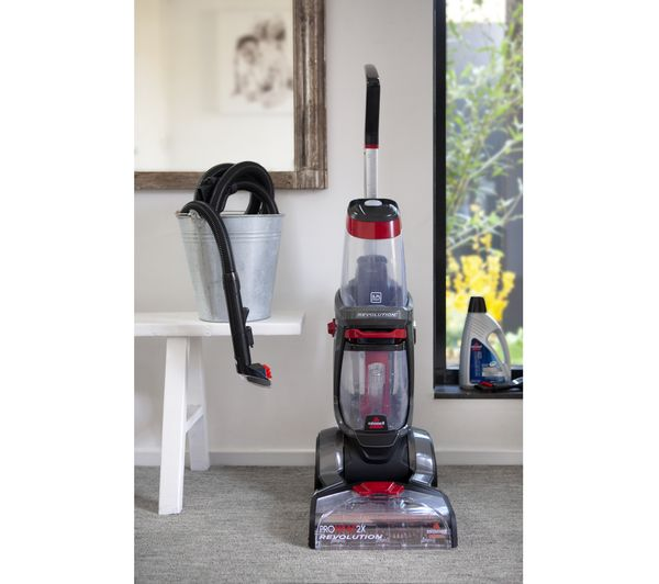 Proheat 2x Revolution Upright Carpet Cleaner Red