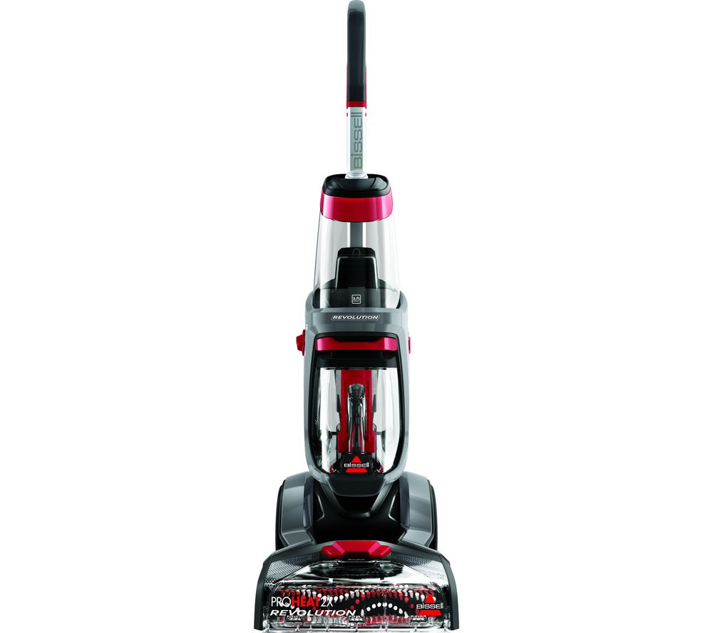 BISSELL ProHeat 2X Revolution Upright Carpet Cleaner - Red, Red