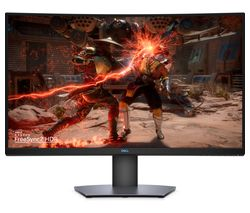 "DELL S3220DGF Quad HD 32"" Curved Gaming Monitor - Grey"