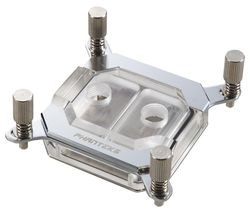 Glacier C350I CPU Water Block - Mirror Chrome