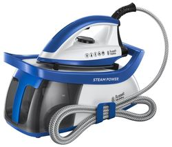 RUSSELL HOBBS Steam Power 24430 Steam Generator Iron - Blue Best Price, Cheapest Prices