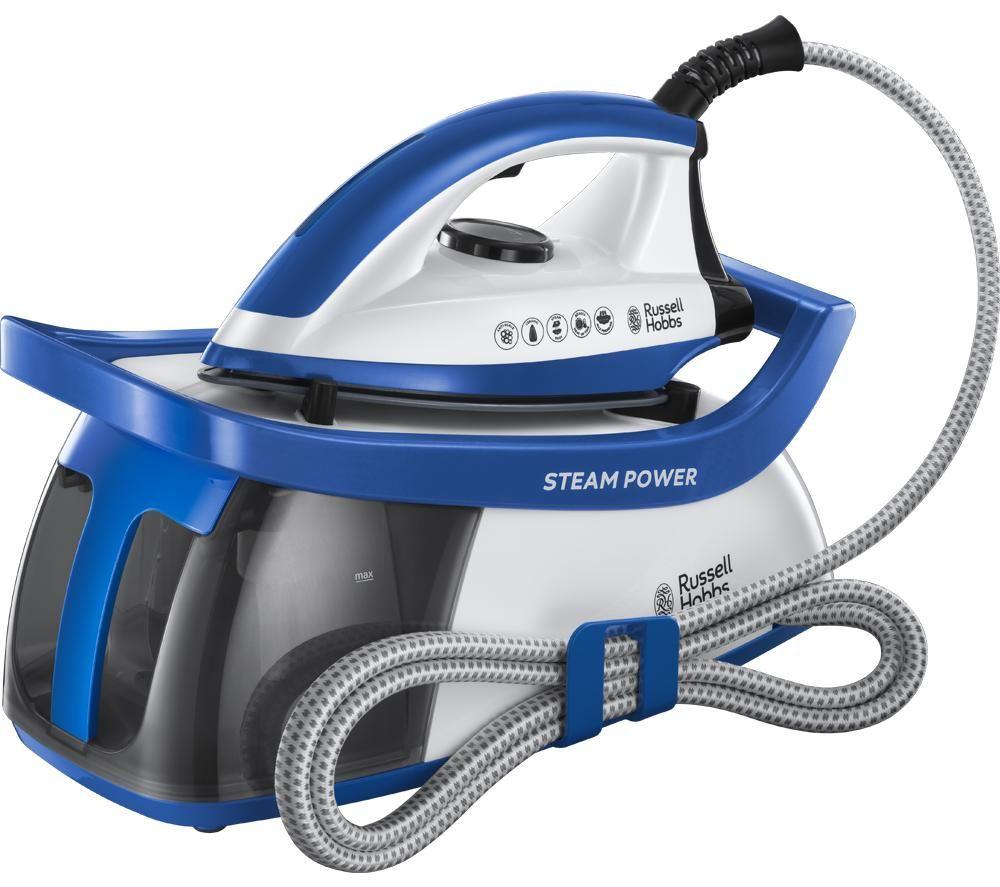 RUSSELL HOBBS Steam Power 24430 Steam Generator Iron - Blue