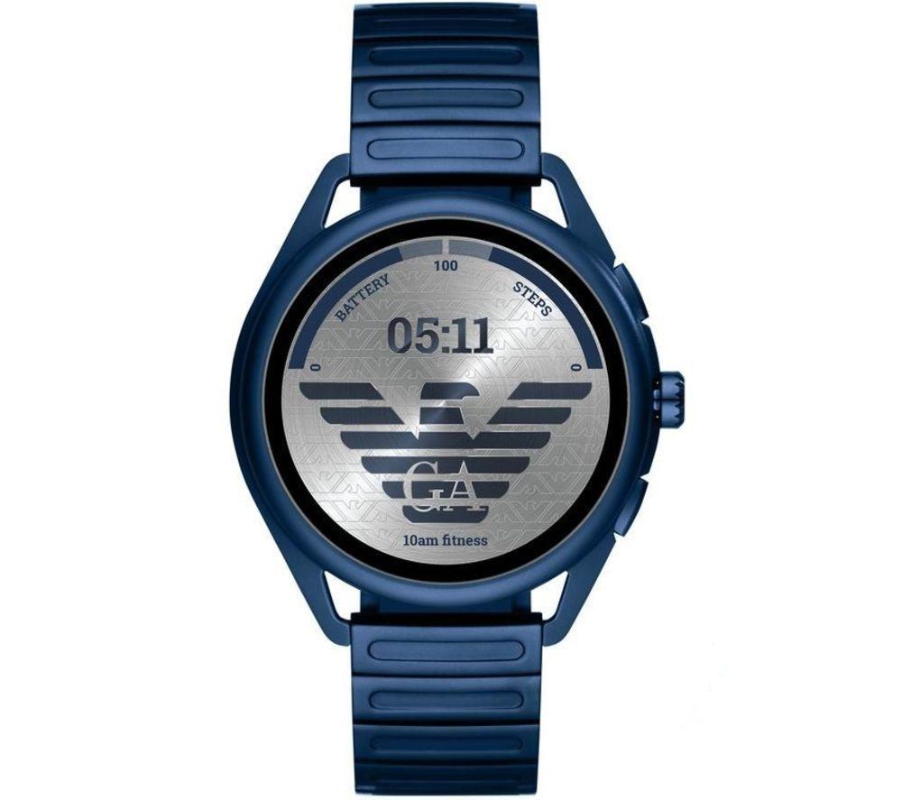 EMPORIO ARMANI ART5028 Smartwatch - Blue, 44.5 mm