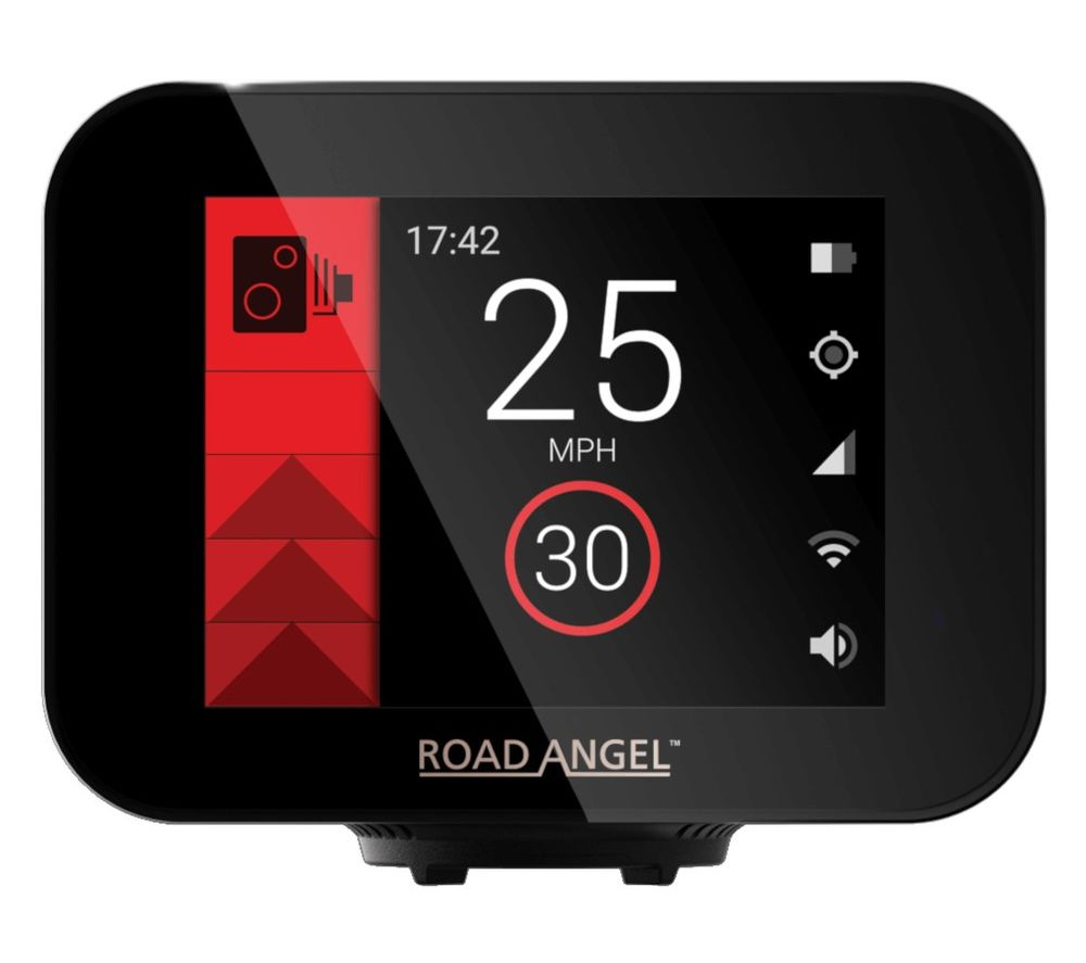"""Image of ROAD ANGEL Pure Touch 3.5"""" Speed Camera Detector"""