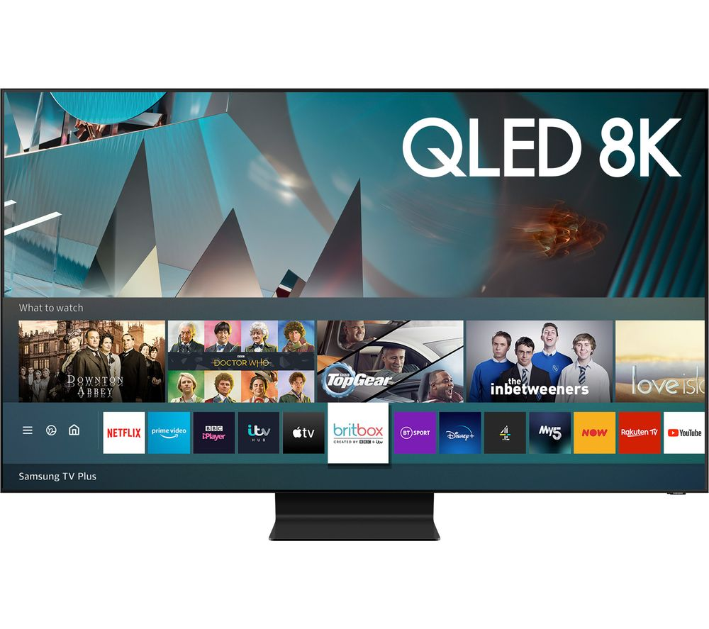 "SAMSUNG QE65Q800TATXXU 65"" Smart 8K HDR QLED TV with Bixby, Alexa & Google Assistant"