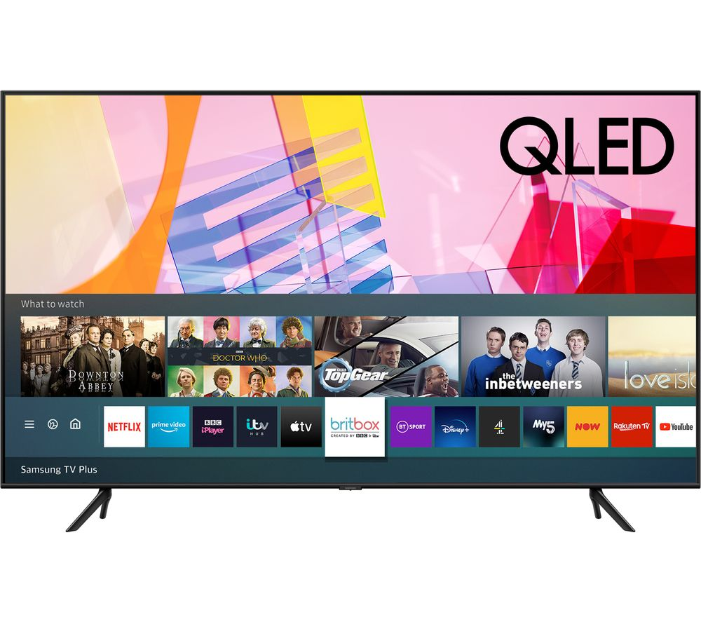 "SAMSUNG QE75Q60TAUXXU 75"" Smart 4K Ultra HD HDR QLED TV with Bixby, Alexa & Google Assistant"