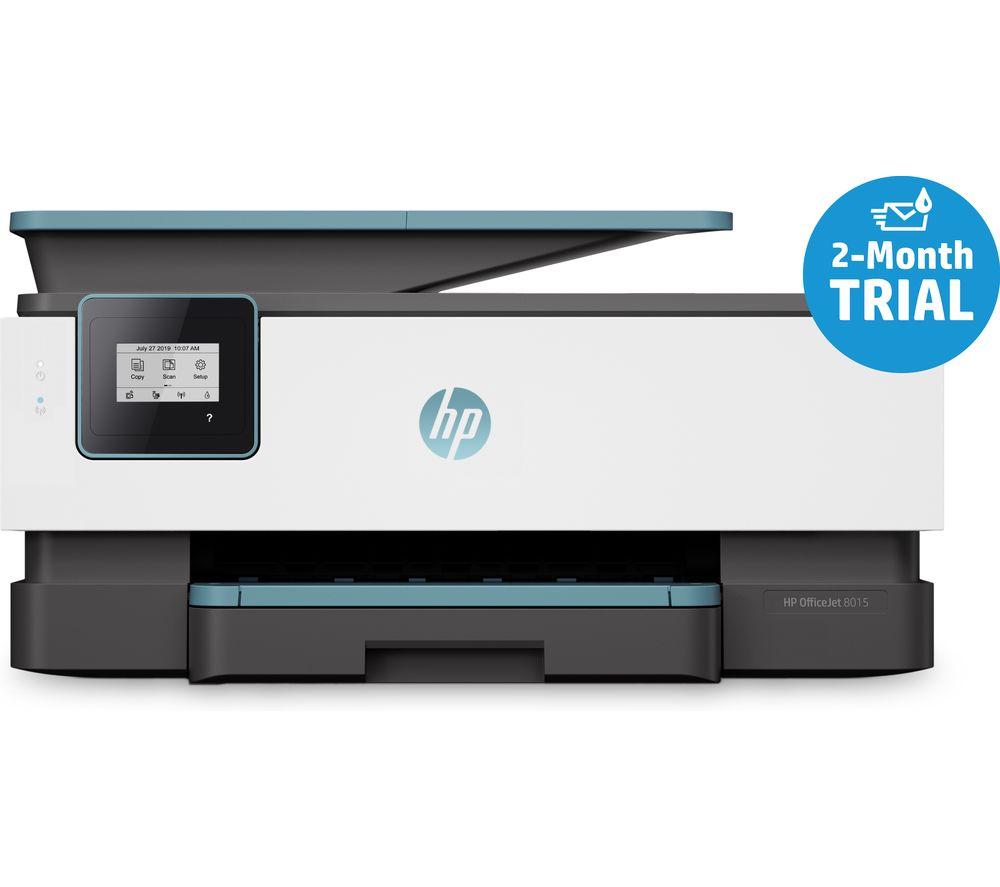 HP OfficeJet 8015 All-in-One Wireless Inkjet Printer