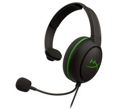 CloudX Chat Gaming Headset - Black & Green
