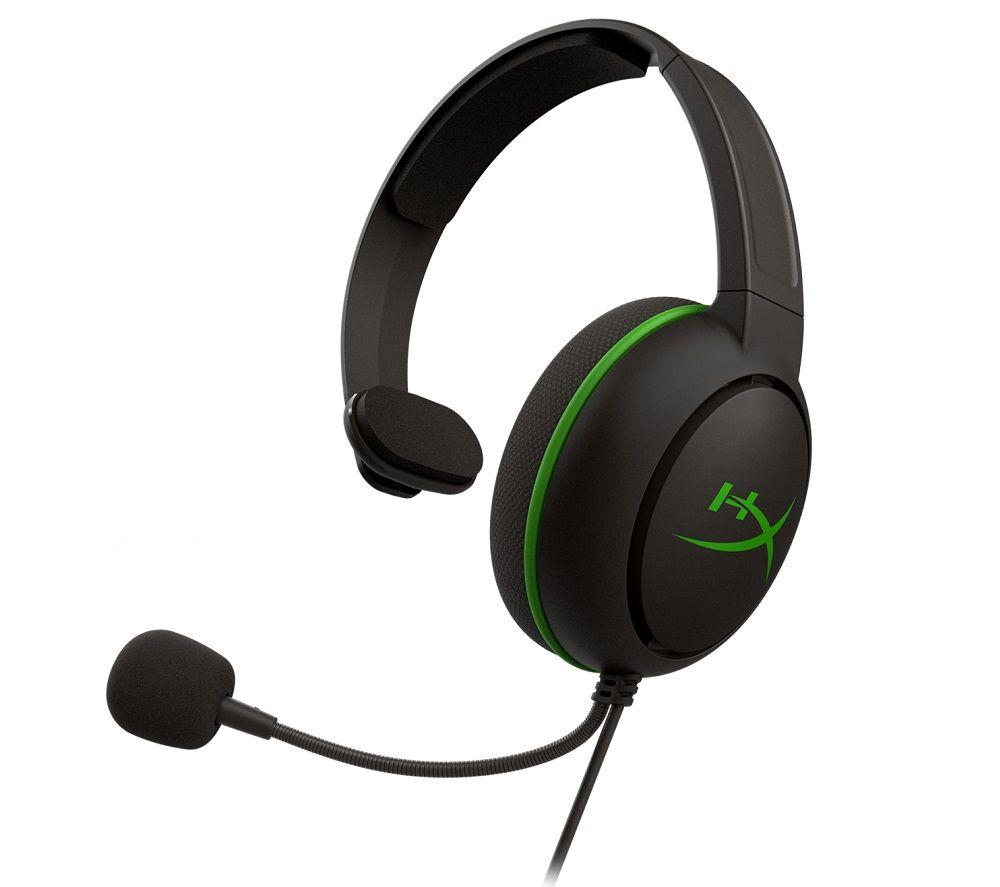 HYPERX CloudX Chat Gaming Headset - Black & Green