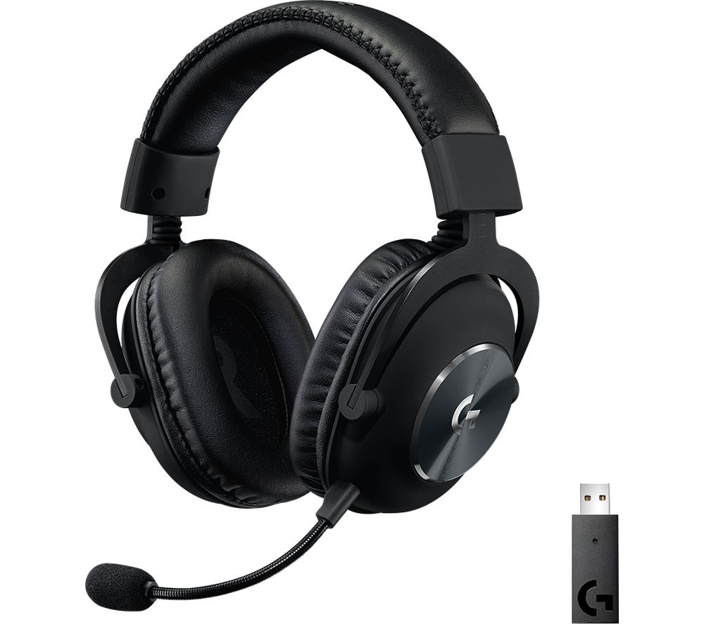 LOGITECH G PRO X Wireless 7.1 Gaming Headset - Black
