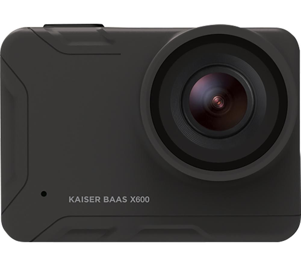 KAISER BAAS X600 4K Ultra HD Action Camera - Black