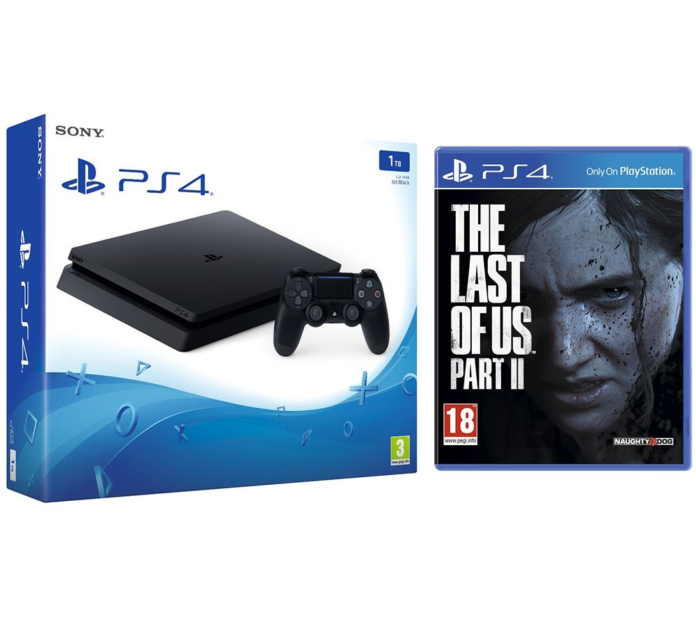SONY PlayStation 4 1 TB & The Last of Us Part II Bundle