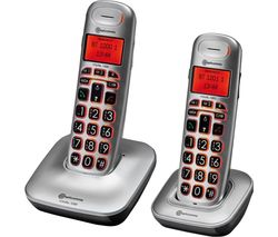 BigTel 1202 Cordless Phone - Twin Handsets