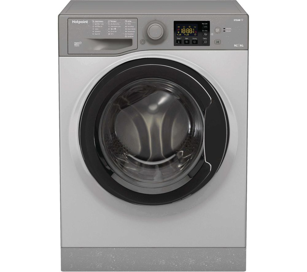 HOTPOINT Core RDGR 9662 GK UK N 9 kg Washer Dryer - Graphite, Graphite