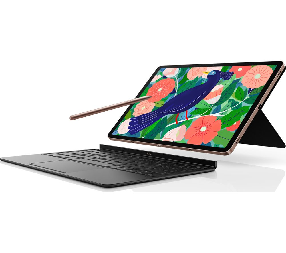 SAMSUNG Tab S7 Keyboard Cover - Black