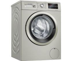 Serie 6 WAU28TS1GB 9 kg 1400 Spin Washing Machine - Silver Inox