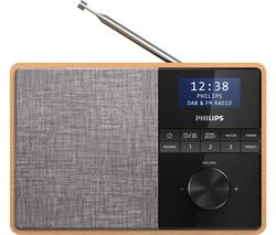 PHILIPS TAR5505/10 Portable DAB+/FM Bluetooth Radio - Light Wood