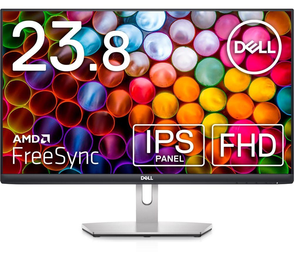 DELL S2421HN Full HD 23.8 inch LCD Monitor - Silver
