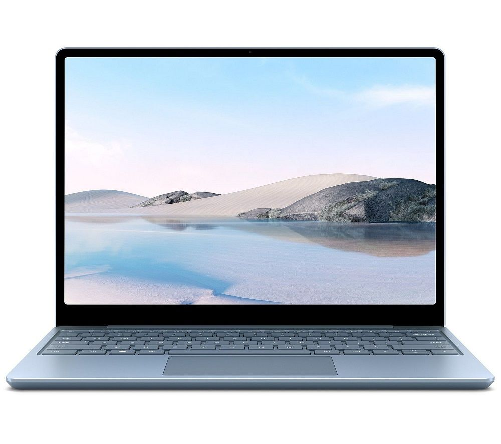 "Image of MICROSOFT 12.5"" Surface Laptop Go - Intel®Core™ i5, 128 GB SSD, Ice Blue, Blue"