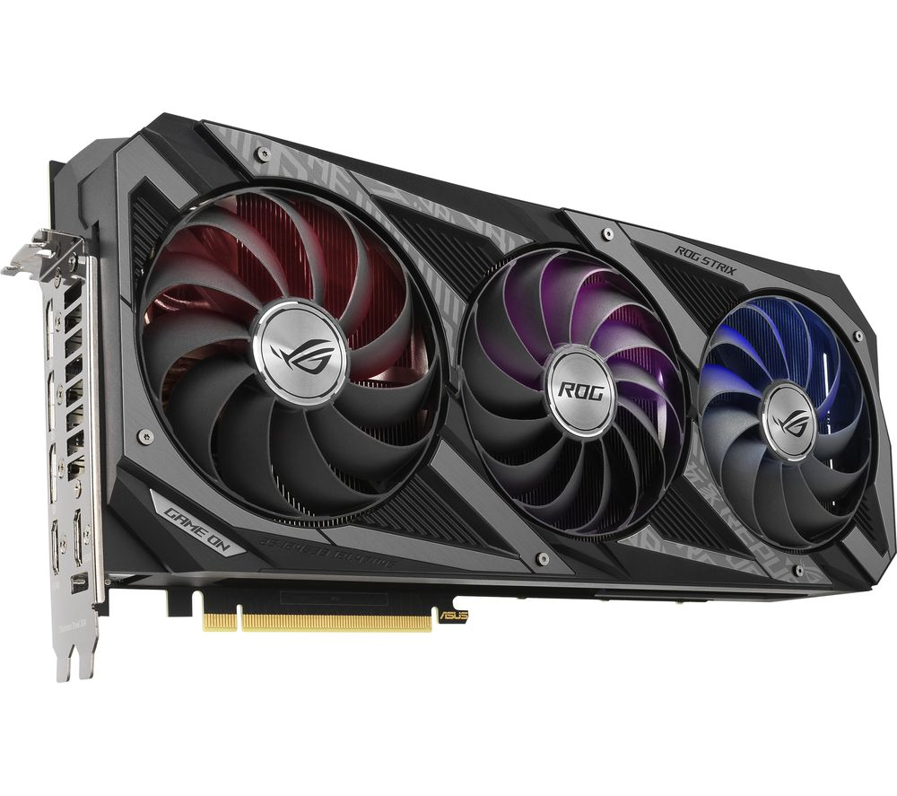 ASUS GeForce RTX 3090 24 GB ROG Strix GAMING OC Graphics Card