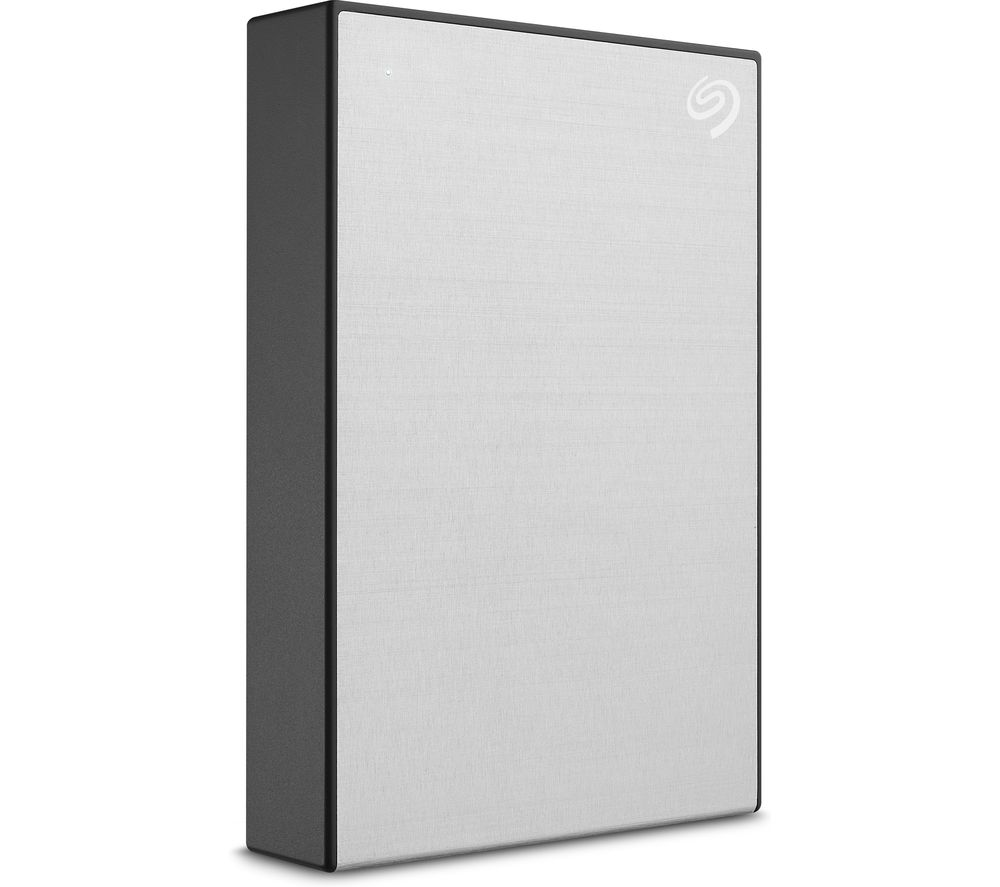 Image of SEAGATE One Touch Portable Hard Drive - 2 TB, Silver, Silver