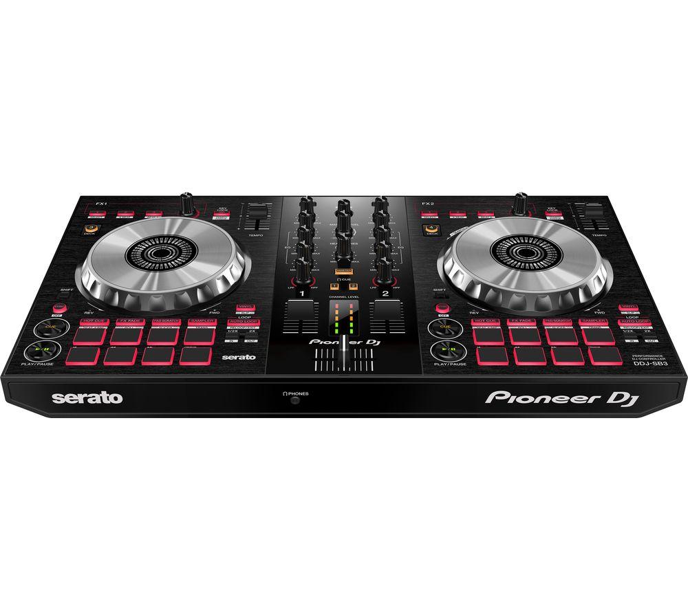 PIONEER DJ DDJ-SB3 Serato 2-Channel DJ Controller
