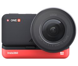 ONE R 1-Inch Edition 5.3K Action Camera - Black & Red