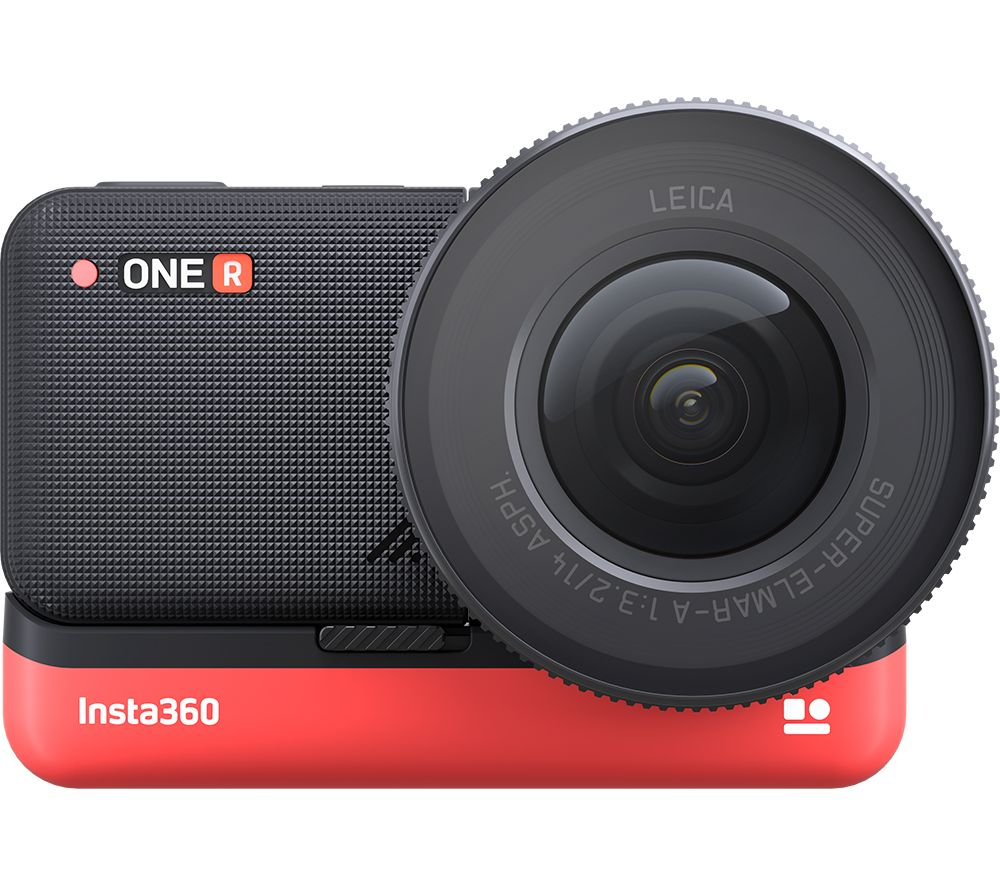 INSTA360 ONE R 1-Inch Edition 5.3K Action Camera - Black & Red