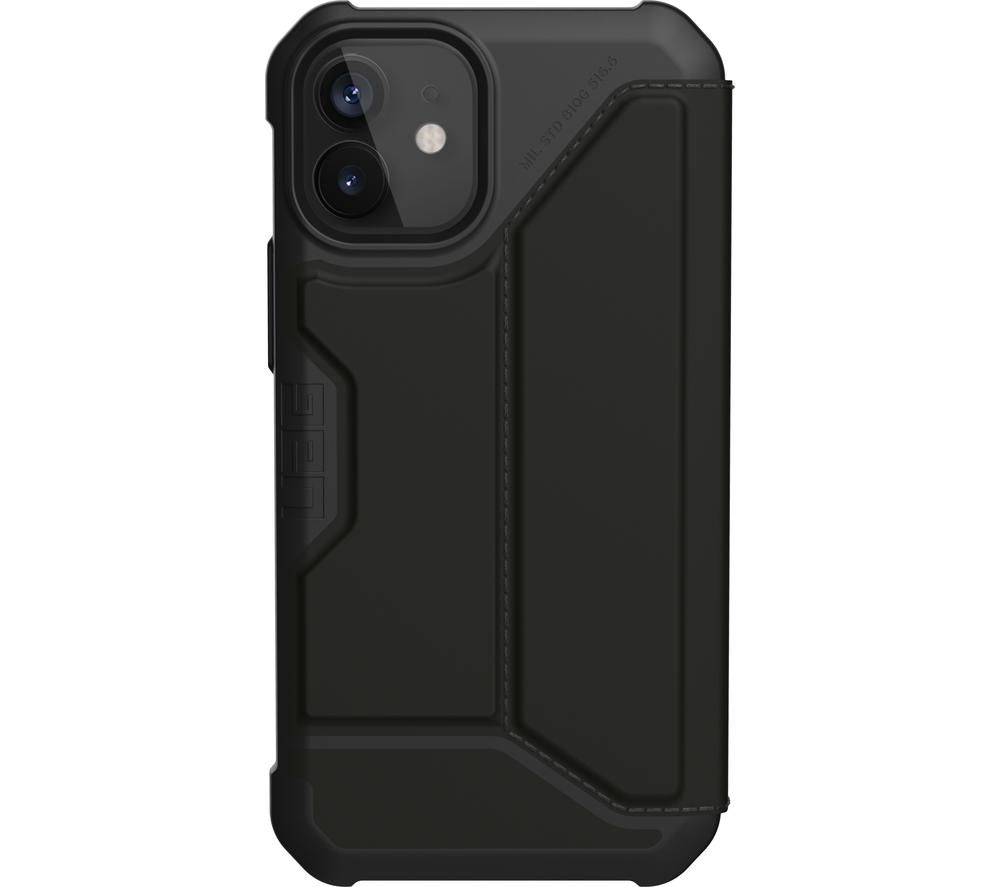 UAG Metropolis Rugged iPhone 12 Mini Case - Black