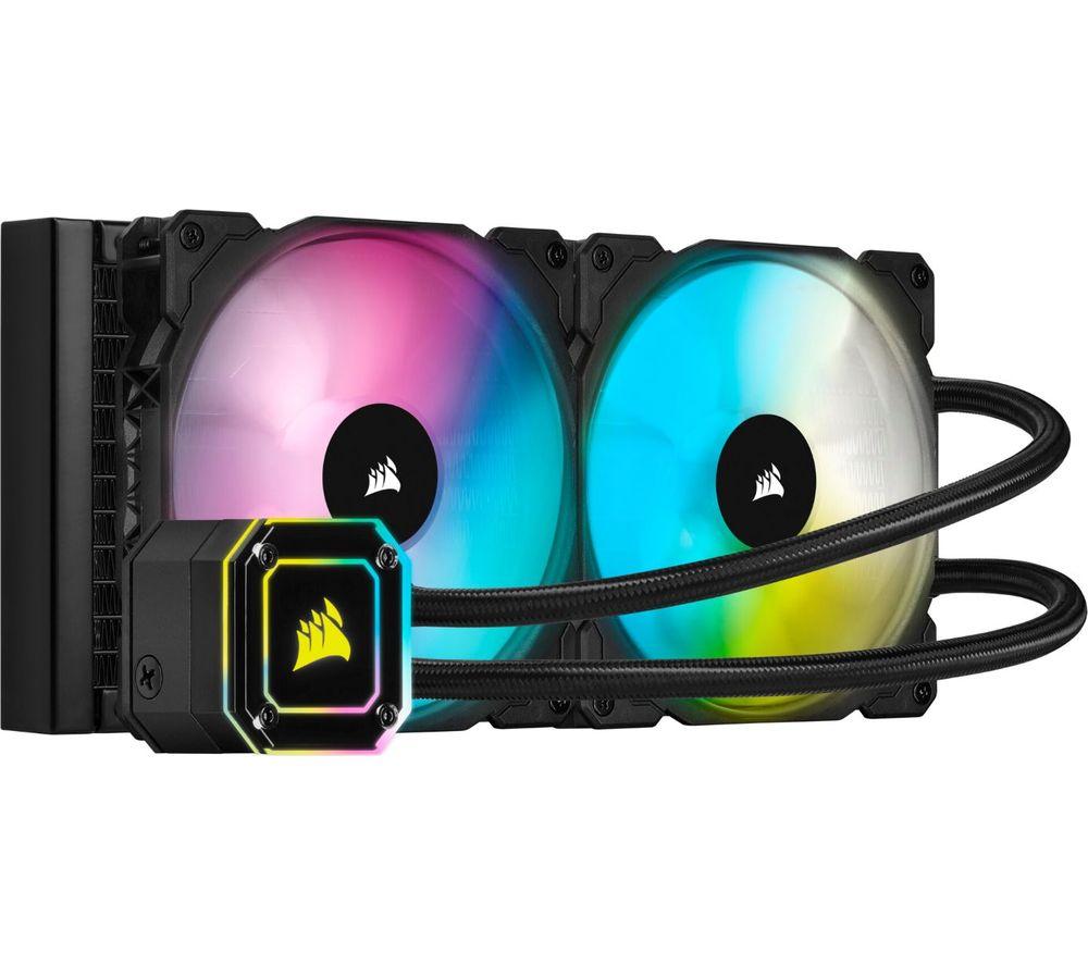 CORSAIR iCUE H115i ELITE CAPELLIX Liquid 280 mm CPU Cooler - RGB LED