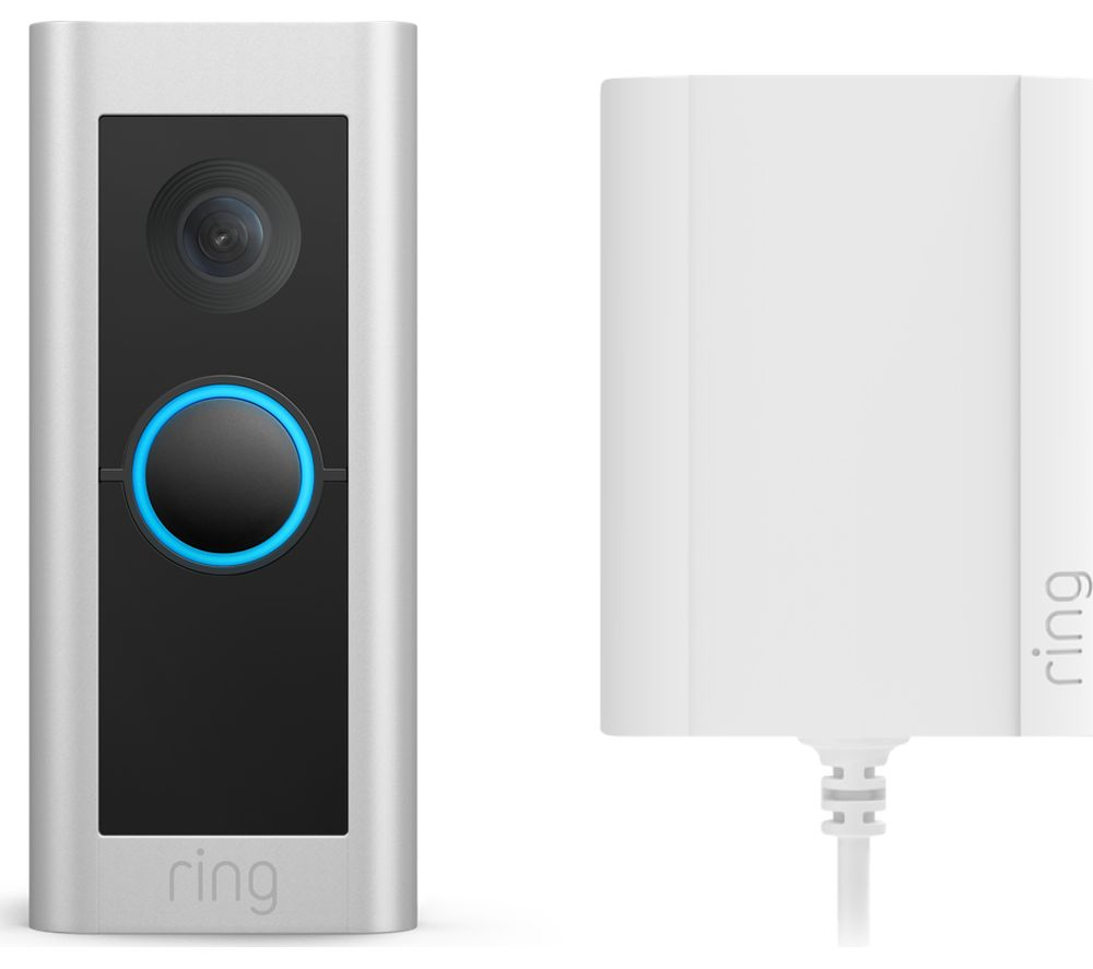 RING Video Doorbell Pro 2 with Plug-In Adapter