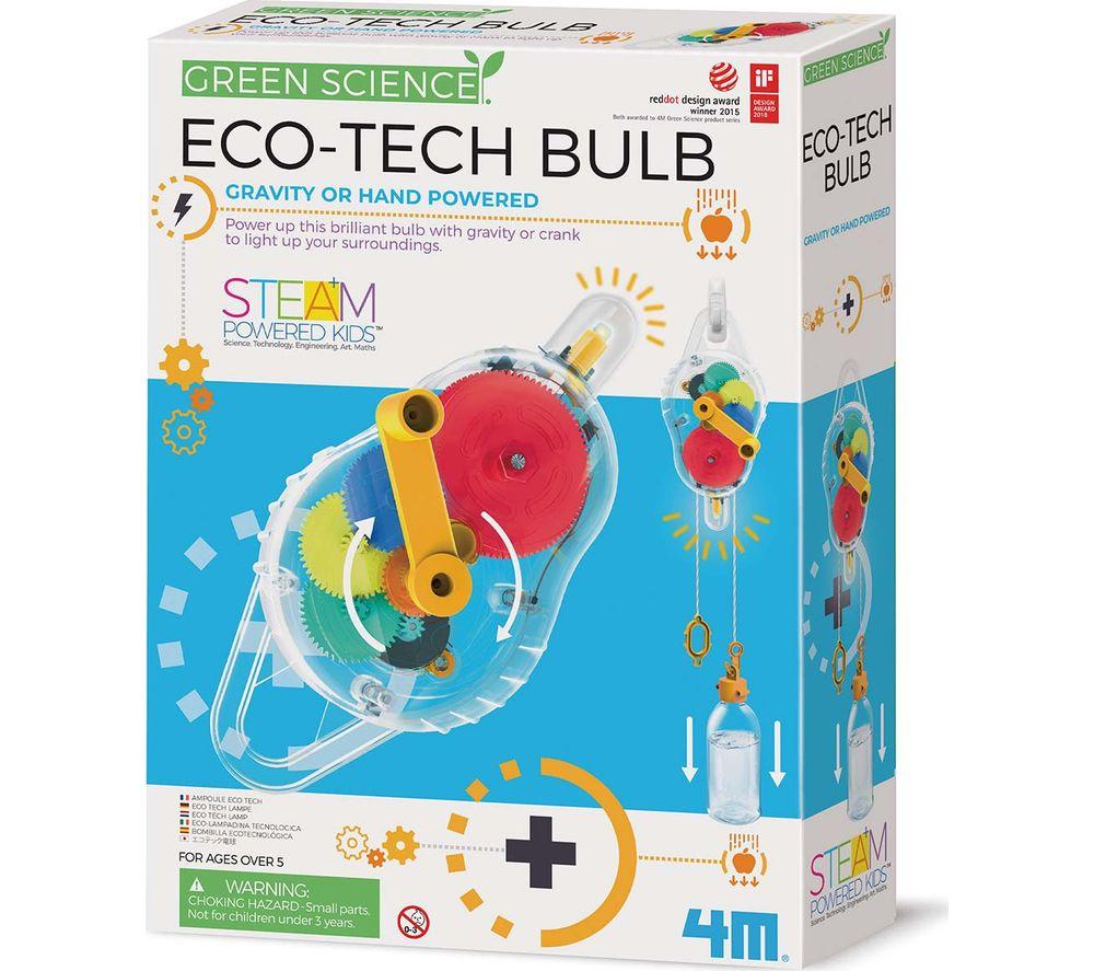 GREEN SCIENCE Eco-Tech Bulb Science Kit, Green