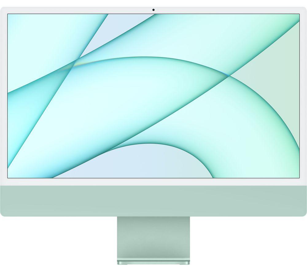 "Image of APPLE iMac 4.5K 24"" (2021) - M1, 256 GB SSD, Green"