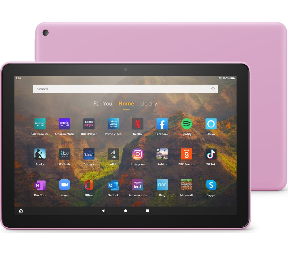 "AMAZON Fire HD 10 10.1"" Tablet (2021) - 32 GB, Lavender"