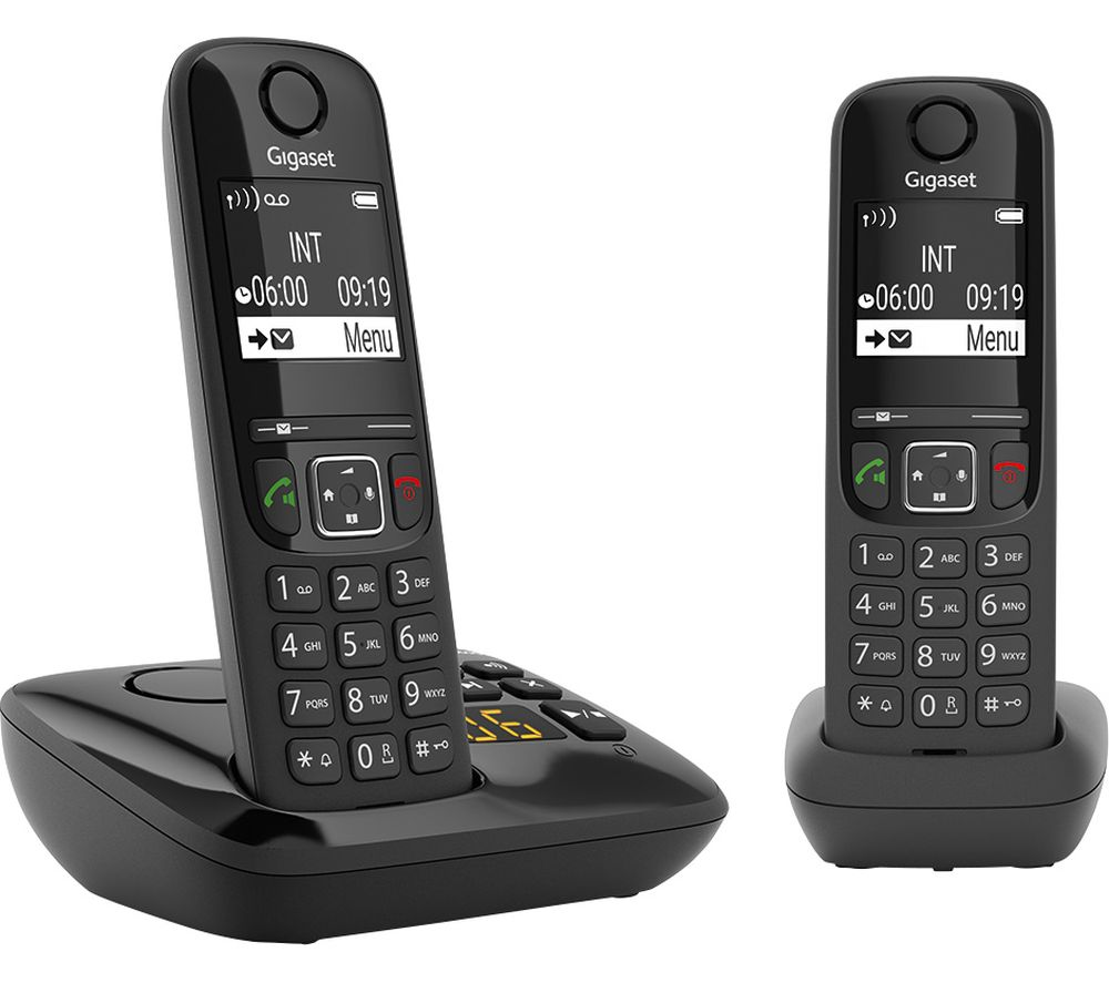 GIGASET AS690A Cordless Phone - Twin Handsets