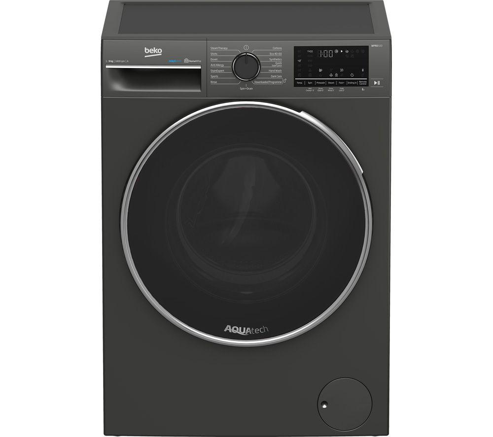 BEKO B5W5941AG Bluetooth 9 kg 1400 Spin Washing Machine -û Graphite