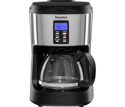 Kitchen Pro 2-in-1 DS-5936 Filter Coffee Machine - Black & Silver