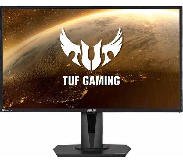 "ASUS TUF VG27AQ Quad HD 27"" IPS LCD Gaming Monitor - Black"