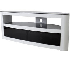 Burghley 1250 mm TV Stand - White
