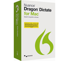 NUANCE Dragon Dictate 4.0 Education Edition with Noise-Cancelling USB Headset
