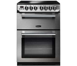 RANGEMASTER Professional 60 Electric Ceramic Cooker - Stainless Steel Best Price, Cheapest Prices