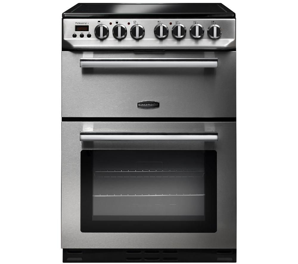 Rangemaster Professional 60 Electric Ceramic Cooker Stainless Steel Free Delivery Currys