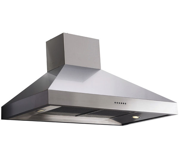 BRITANNIA TPBTH90S Chimney Cooker Hood - Stainless Steel