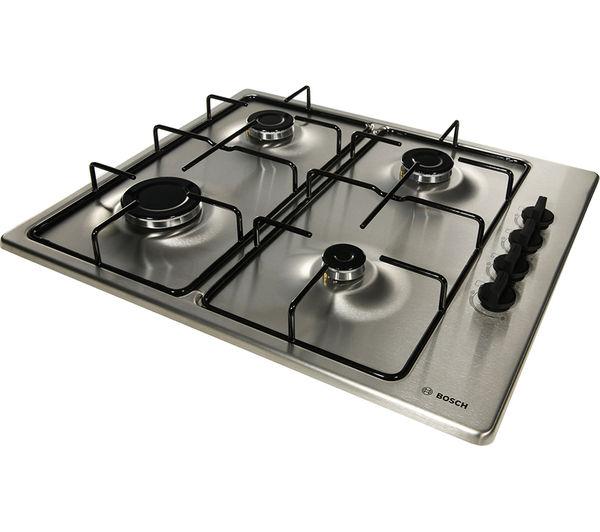 bosch pbp6b5b80 gas hob stainless steel